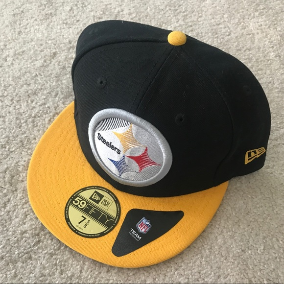finest selection 3c546 50226 ... order nwt new era 59fifty pittsburgh steelers nfl fitted 22db6 2a2d1